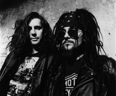 Paul Baker - Al Jourgensen (MInistry). Hmmm...is Al the inspiration for the look of Johnny Depp's character Capt Jack Sparrow?