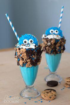 Cookie Monster Freakshake | Fun Family Crafts