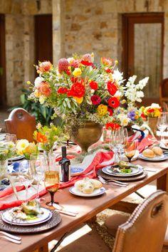 for an elegant independence day alfresco dinner.