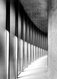 Tadao Ando, Hiroki Oda Museum ('Daylight Museum'), Gamo-gun, Shiga, 1997-982 Tadao Ando, Shiga, Stairs, Museum, Architecture, Gun, Home Decor, Black Photography, Black White
