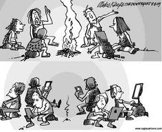 la tecnologia: escribir sobre el dibujo
