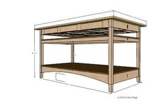 Cutting Table for Sewing Room