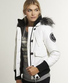 Superdry Hooded Fur Sherpa Wind Attacker Jacket, fight the ...