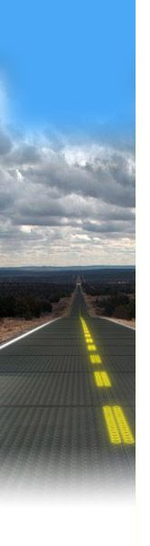 solar roadways, dynamic and generate electricity. these people are phenomenal