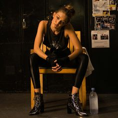 Gigi Hadid in the GIGI Boot at Gleason's Gym in Brooklyn, NY.