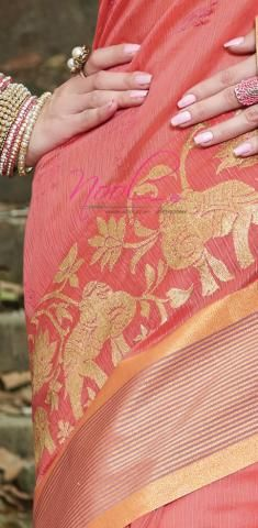 http://www.nool.co.in/product/sarees/baluchari-saris-peach-chanderi-cotton-plain-zari-embroidery-c9j08