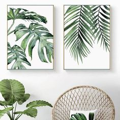Beautiful Tropical Leaves Watercolor House Plants Posters Fine Art Canvas Prints Nordic Style Interior Decoration For Modern Kitchen Living Rooms Beautiful Tropical Leaves Watercolor House Plants Posters Fine Art Canvas Prints – NordicWallArt. Canvas Poster, Canvas Art Prints, Canvas Wall Art, Bathroom Canvas Art, Kitchen Canvas Art, Plant Painting, Plant Art, Spray Painting, Tropical Decor