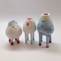 Il Sung Na crafted these adorable creatures that have a practical purpose. They hold tea lights, lightbulbs, paintbrushes and more.