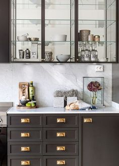 Open Kitchen Cabinets No Doors a gallery of gorgeous glass fronted cabinets: all the beauty of