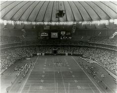 Seattle Seahawks game, Kingdome, no date