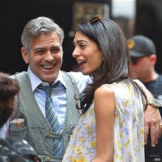 Pin for Later: Amal and George Clooney Could Not Look More in Love in Their Latest Pics