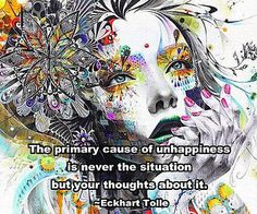 the cause of unhappiness