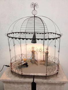 Wire objects as lamps in Baden buy ricardo.ch