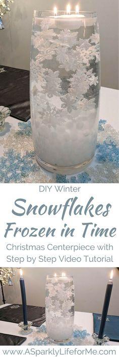 DIY Winter Snowflake