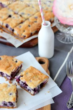 Blueberry Custard Pie Bars OMG  Consider 1 pack of berries and a little more butter for graham cracker crust. do not overcook.