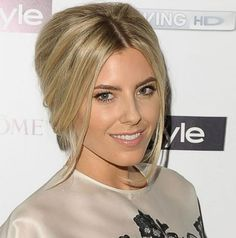 80 And More Updo Hairstyles For 2014: Mollie King Updos  #updos #hairstyles #updohairstyles