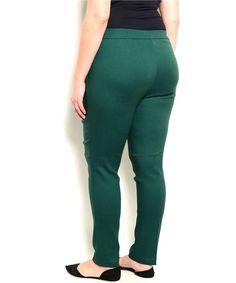 Plus+Size+Skinny+Leg+Pant