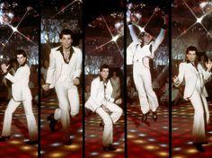 """Saturday Night Fever"", an American dance film directed by John Badham was released in The film starring John Travolta as Tony Mane. John Travolta, Saturday Night Fever, Sunday Night, Disco Fashion, Men's Fashion, Fashion History, Dance Movies, Mens Fashion Magazine, Shall We Dance"