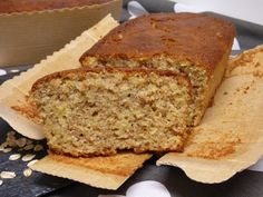 Bizcocho integral con manzana y avena Healthy Treats, Healthy Desserts, Healthy Food, Cake Cookies, Cupcake Cakes, Brioche Recipe, Biscuit Bread, Pan Dulce, Chocolate Muffins