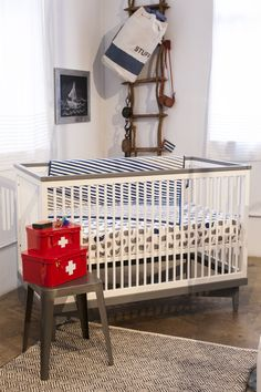 Nautical nursery from our Fall 2013 press preview.