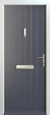 Our Contemporary Composite Door range is ideal for a more modern look. Available in 9 styles & 22 colours with a 10 year guarantee - get your FREE quote today! Golden Oak, Geneva, Door Handles, Composition, Garage Doors, Colours, Contemporary, Home Decor