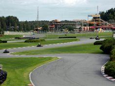 Powerpark Go-kart racing Mika Salo Circuit. Alahärmä, South Ostrobothnia province of Western Finland. - Etelä-Pohjanmaa,