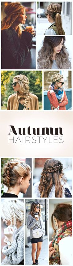 5 Autumn Hairstyles for 2016