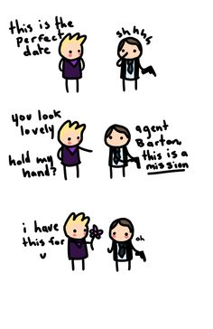 Clint, do you and Phil get to go on dates? omg-hawkeye.tumblr.com