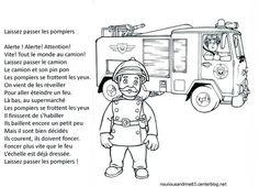 activité manuelle : comptine : laissez passer les pompiers                                                                                                                                                                                 Plus