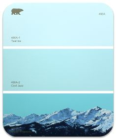 """""""490A - Flight"""" illustrated paint chips by Shawn Huckins."""