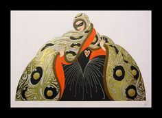 """Masquerade"" by Erte."