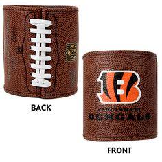 Cincinnati Bengals 2pc Football Can Holder Set