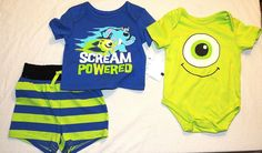 1def5f35fa2d 11 Best Monsters Inc.   Monsters University Baby Clothes images ...