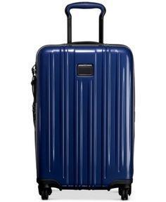 """Tumi V3 22"""" International Carry-On Expandable Hardside Spinner Suitcase -"""