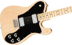 Maple Telecaster Deluxe with black pickguard