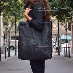 Are you a shoulder bag woman?