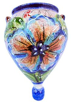 Wall Planter - Spanish Orza (Spanish Daffodil) - Hand Painted in Spain