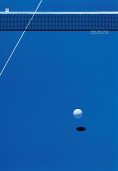 Table Tennis might not get as much hype as football or basketball, but it's equally intense and fun. Japanese art director Yuri Uenishi created a series of minimalist posters just to show how beaut… Sports Advertising, Advertising Design, Japanese Graphic Design, Japanese Prints, Tennis, Deco Paint, Sports Graphics, Graphic Artwork, Minimalist Poster