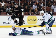 Vancouver Canucks v Anaheim Ducks460874743  http://www.gettyimages.com/detail/460874743  Shared via SportsFlow by Samsung