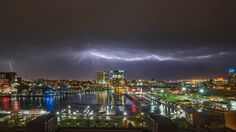 Must see lightning video and photos over Baltimore