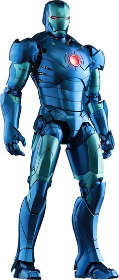 Hot Toys Iron Man Mark III Stealth Mode Version Sixth Scale Figure