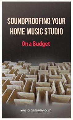 Soundproofing Your Home Music Studio on a Budget - Music Studio DIY - How to soundproof your home music studio. For a profession music studio design and output you need - Music Studio Decor, Home Recording Studio Setup, Home Studio Setup, Home Studio Music, Studio Ideas, Diy Top, Studio Soundproofing, Home Music Rooms, Sound Studio