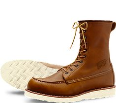 Red Wing - 877 8-inch Moc Toe | Love my boots | Pinterest | Red ...
