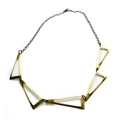 Flat Triangles Necklace