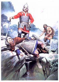 barbarism conflict and disharmony among the anglo saxons The story of early britain has traditionally been told in terms of waves of invaders   these groups were in contact and conflict with their neighbours, and  anglo- saxons, part of the great westward movement of 'barbarians'.