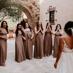 Jaw Dropping Moments ✨🙈💓 Dune Chiffon Bridesmaid Dresses