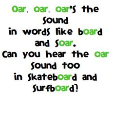 oar song list