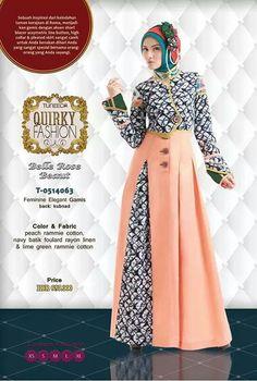 Batik Fashion, Abaya Fashion, Fashion Dresses, Gaun Dress, Moslem Fashion, Muslim Dress, Batik Dress, Islamic Fashion, Islamic Clothing