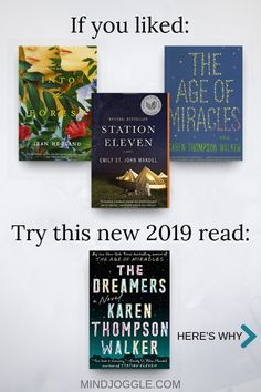 If you liked Into the Forest, Station Eleven, and The Age of Miracles, try The Dreamers by Karen Thompson Walker. The Dreamers is a read-alike for Station Eleven, The Age of Miracles, and Into the Forest. #bookstoread #bookreview #books #dystopia #2019books #amreading #reading Reading Facts, Reading Tips, Reading Quotes, Station Eleven, Literary Fiction, Fiction Books, Book Suggestions, Book Recommendations, Best Book Reviews