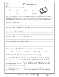 Our 5 favorite fourth grade writing worksheets